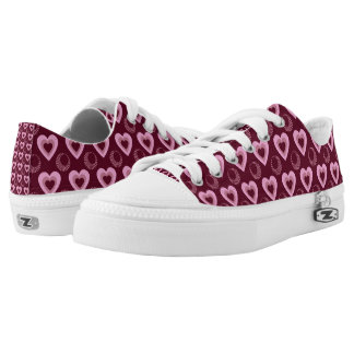 Heart Throb Lo Top Printed Shoes