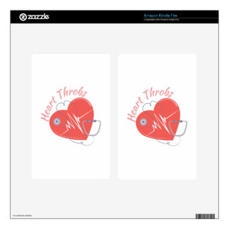 Heart Throbs Skins For Kindle Fire