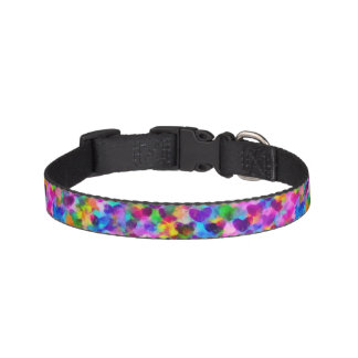 Heart Tiled Dog Collar