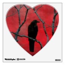 Heart To Crow Wall Sticker