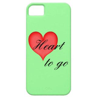 heart to go black iPhone 5 schutzhülle