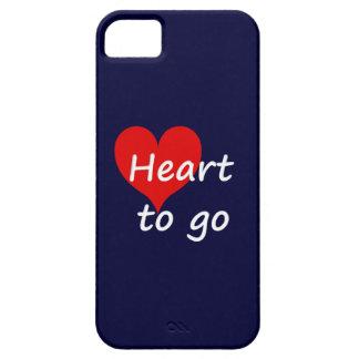 heart to go weiß etui fürs iPhone 5