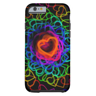 Heart to Hearts Groovy Rainbow Tough iPhone 6 Case