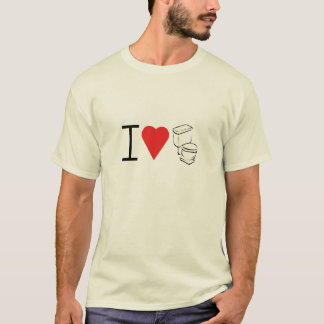heart toilet t-shirt