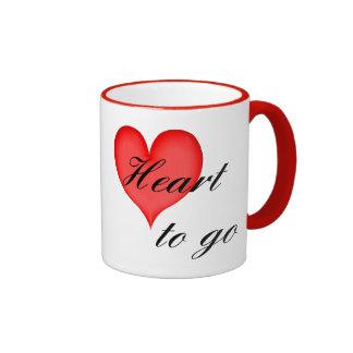 heart tons go black ringer mug