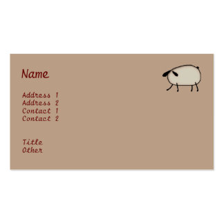 Heart Topiary Business Card