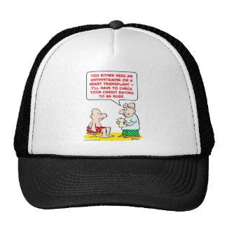 heart transplant credit rating trucker hat