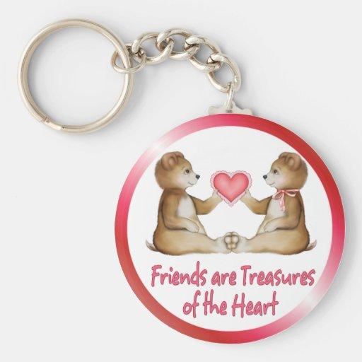 Heart Treasures Keychain
