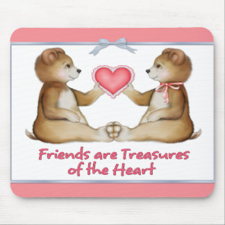 Heart Treasures Mouse Pad