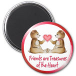 Heart Treasures Refrigerator Magnet