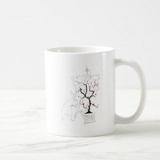 heart tree1 coffee mugs