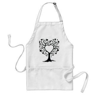 Heart Tree Adult Apron