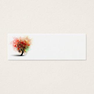 Heart Tree Bookmark Card