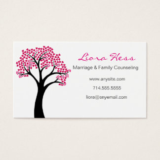 Heart Tree Business Card