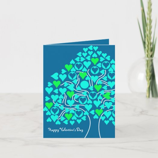 Heart Tree Valentine's Card