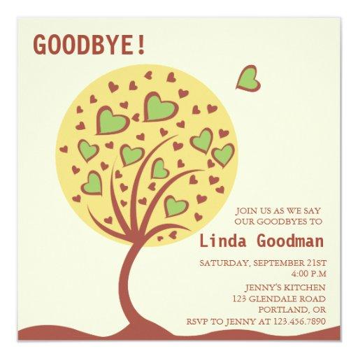 Invitation Farewell Party for good invitations sample