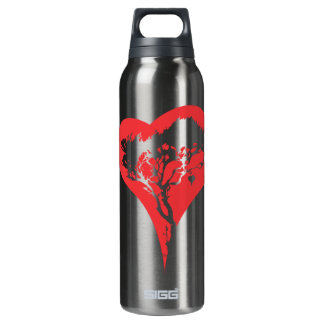 Heart Tree Insulated Water Bottle