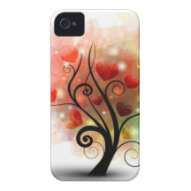 Heart Tree iPhone4 Case iPhone 4 Case-Mate Case