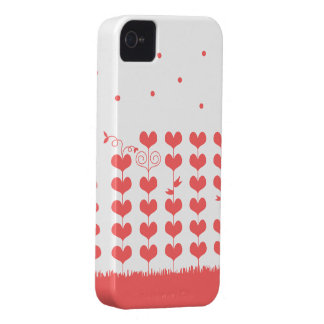 Heart tree iPhone 4 cover