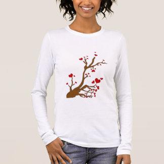 heart tree long sleeve T-Shirt