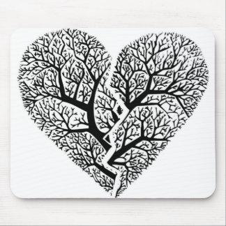Heart Tree Mousepad