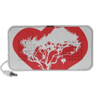 Heart Tree Portable USB Audio Speakers