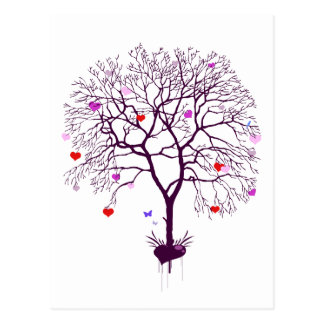 Heart Tree Postcard