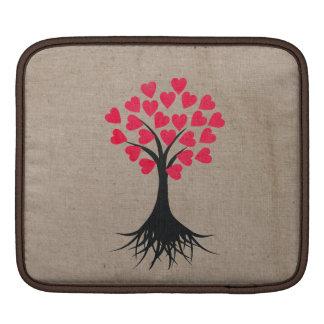 Heart Tree Sleeve For iPads