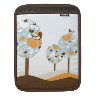 Heart Trees iPad Sleeve