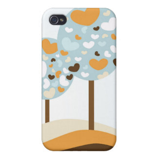 Heart Trees iPhone 4/4S Case