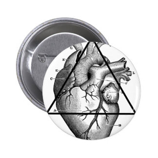 Heart triangle heart