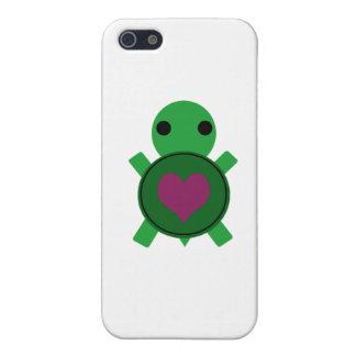 Heart Turtle iPhone SE/5/5s Case