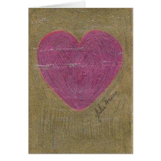 Heart Valentine Birthday Card By Julia Hanna