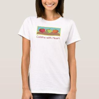 heart vegetables healthy dining gardening love T-Shirt