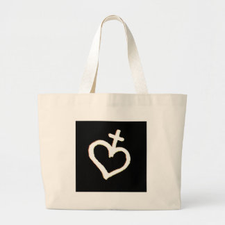 heart veve tote bags