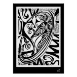 Heart & Vines with Border Posters