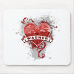 Heart Wagner Mouse Pad