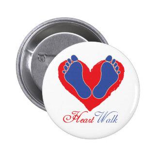 Heart Walk Button