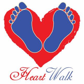 Heart Walk Statuette