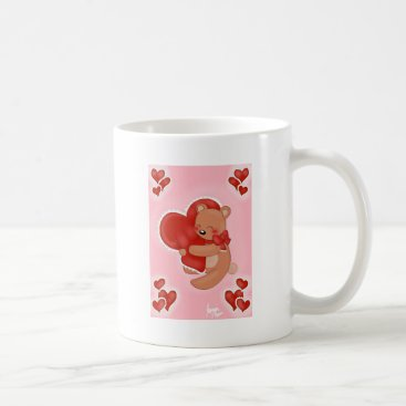 jasmineflynn Heart Warming Teddybear Coffee Mug