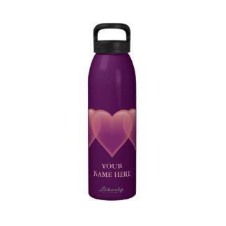 Heart Water Bottle - customize it!