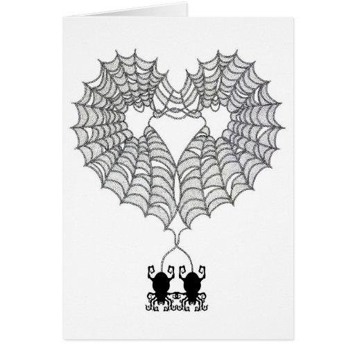 Heart Web Card