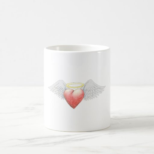 Heart Wing Halo Coffee Mug