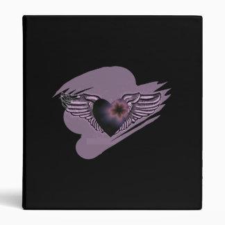 Heart Wings Binder
