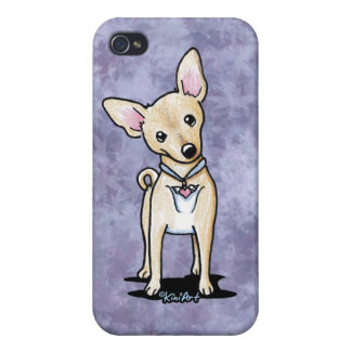 Heart Wings Chihuahua iPhone 4 Covers