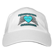 Heart/Wings...Dysautonomia Hat