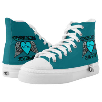Heart/Wings...Dysautonomia High-Top Sneakers