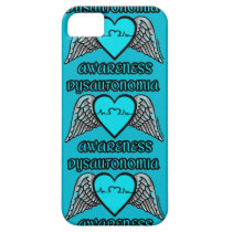 Heart/Wings...Dysautonomia iPhone SE/5/5s Case