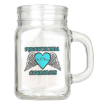 Heart/Wings...Dysautonomia Mason Jar