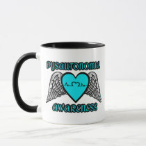 Heart/Wings...Dysautonomia Mug